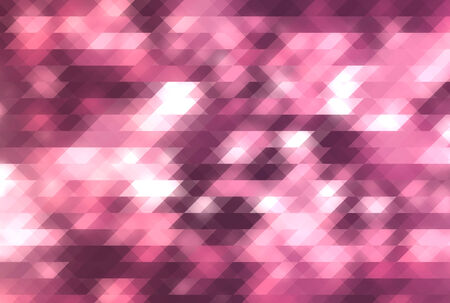Pink triangle abstract background Banco de Imagens