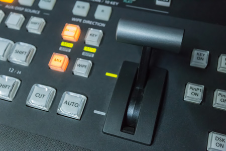 Video switcher of Television Broadcast photo