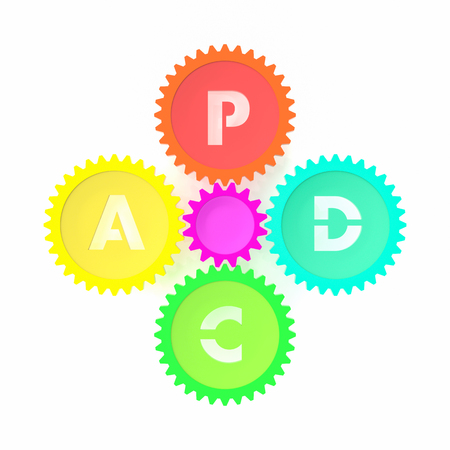 PDCA illustration