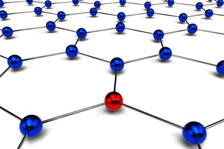 conceptual diagram of network 写真素材