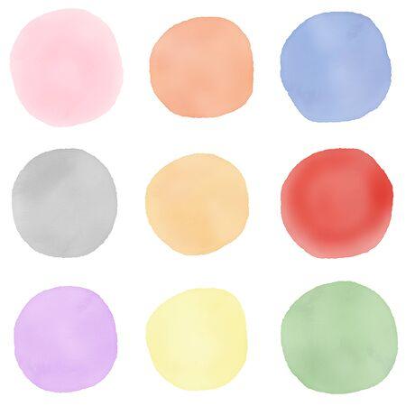 Polka dot material set
