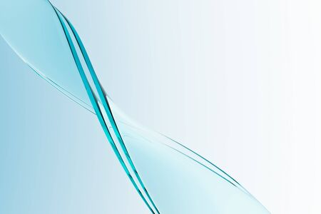 Transparent glass plate object 3d wallpaper material Stock Photo