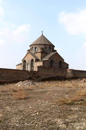 national historic site: The convent on the sky background, Armenia