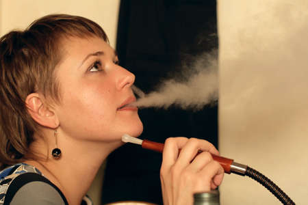 The habit of smoking hookah after supper