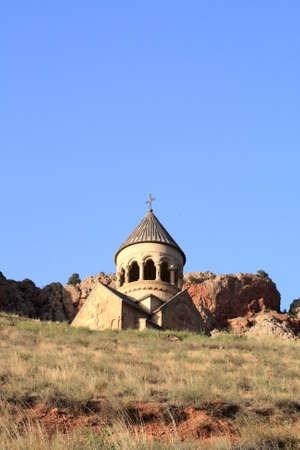 apostolic: The stone armenian apostolic church on hill