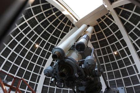 Il telescopio di un osservatorio astronomico, Stati Uniti d'America