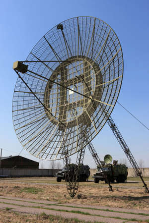 The radar on training ground Army Signal Corps photo