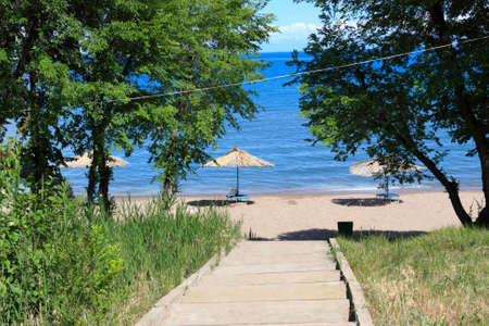 kirgizia: Way to Issyk Kul lake in Kirgizia