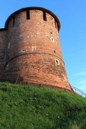 nizhni novgorod: The tower of Nizhni Novgorod Kremlin, Russia Stock Photo