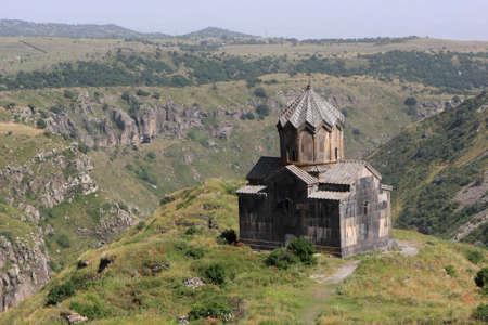 apostolic: Apostolic Church on Mount Aragats in summer, Armenia