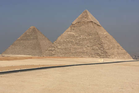 chephren: The Pyramid of Khafre and the Great Pyramid