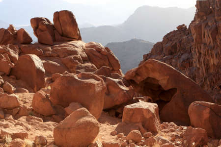 sinai peninsula: Mount Sinai is considered sacred by the Christian Jewish and Muslim religions