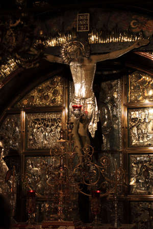 Golgotha, Church of the Holy Sepulchre, Jerusalem photo