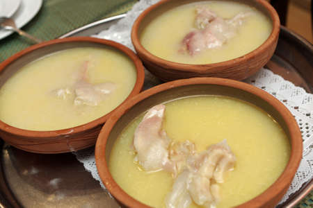 The armenian hash soup as early breakfast photo