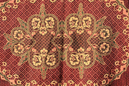 The brown wool carpet as background, Russia Stock Photo - 7253086