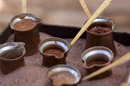 greek pot: I caff� pentole a sabbia, Grecia