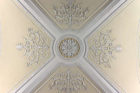 st petersburg: Ceiling of the Augustus Room in winter palace, Saint Petersburg