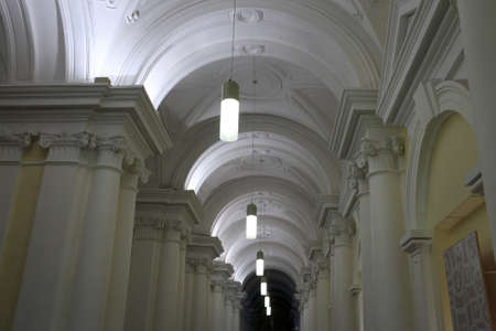 It is hall of winter palace in Saint Petersbur, Russia
