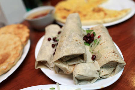 georgian: The georgian Kebab in the restaorant, Georgia