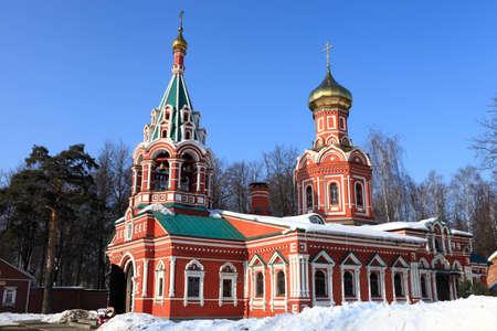 Znamenskaya Church was built in 1683, Krasnogorsk, Russia Stock Photo - 12630532