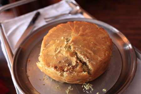 khan: The khan pilaf in an azerbaijan restaurant