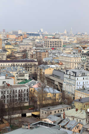 Aerial view of Moscow in summer, Russia Stock Photo - 14076053