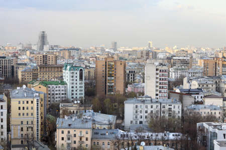 Moscow city view at day in summer, Russia Stock Photo - 14076022