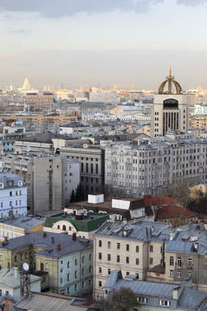 Moscow urban scene at day in summer, Russia Stock Photo - 14076026