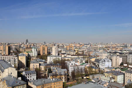 Moscow skyline at day in summer, Russia Stock Photo - 14100997