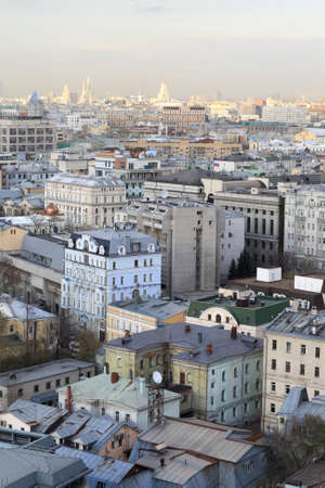 View of Moscow city in summer, Russia Stock Photo - 14100993