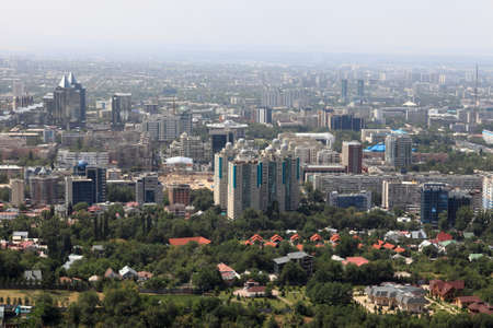Almaty is located in a mountainous area of southern Kazakhstan