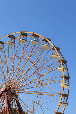Ferris Wheel on the sky background in Faliraki photo
