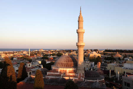 suleyman: The Suleyman Mosque in the old centre of Rhodes was built in 1523, Greece