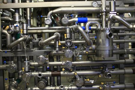 Details zum Vertriebssystem von einer Brauerei Standard-Bild - 24068924