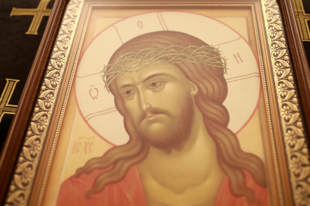 Icon of Jesus Christ in orthodox church