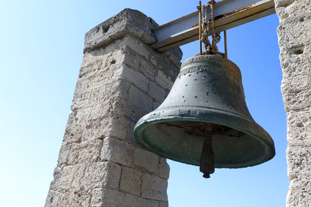 View of Chersonesus bell on sky background