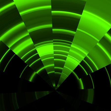 abstract illustration of a green  background