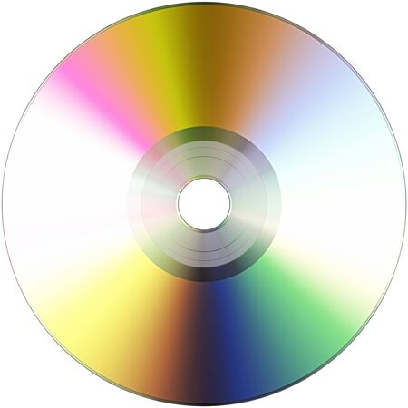The image cd-rom on a white background Stock Photo - 5890217