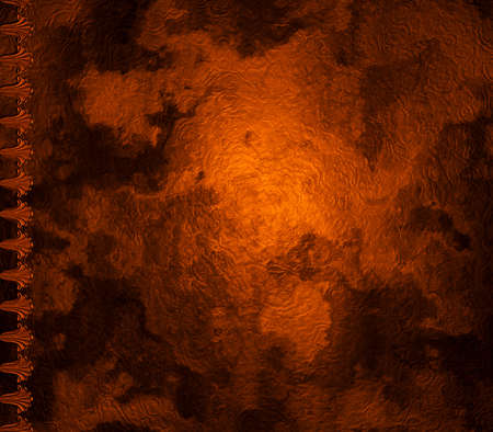 3d ancient rough surface of parchment or plaster photo
