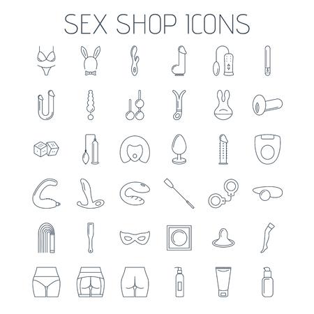 Geslacht winkel lijn pictogrammen geïsoleerd op een witte achtergrond. Lineaire minimalistische pictogrammen voor uw website, flyers en reclame.