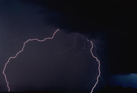 thunderhead: Lightning Idaho Peak, Selkirk Mountains British Columbia, Canada