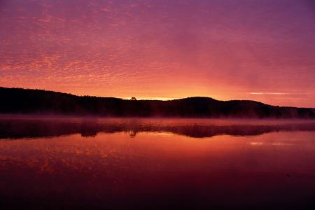 Sunrise Kingston Creek, New Brunswick Canada LANG_EVOIMAGES