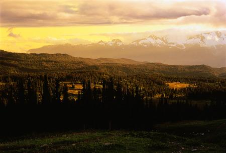 View from Black Tusk Meadows Garibaldi Provincial Park British Columbia, Canada