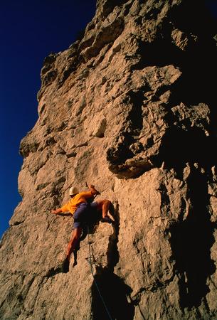 Man Rock Climbing Ontario, Canada LANG_EVOIMAGES