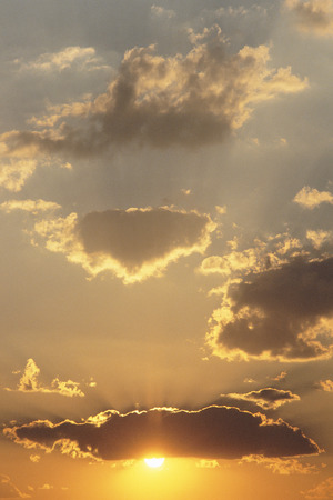 Clouds at Sunset Popa Falls, Namibia LANG_EVOIMAGES