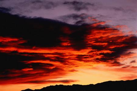 Black Rock Desert at Sunset Nevada, USA LANG_EVOIMAGES