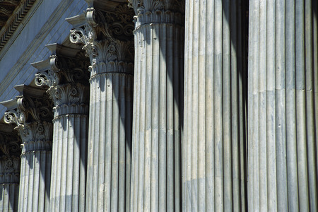 repeated: Columns at Zappeion, Athens, Greece
