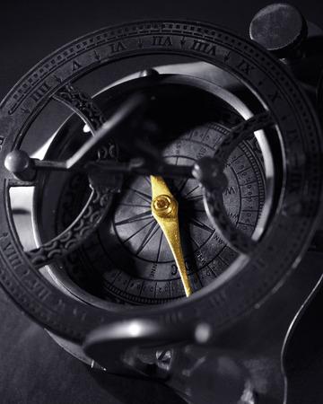 cartographical: Close-Up of Antique Compass