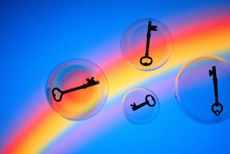 Keys in Bubbles