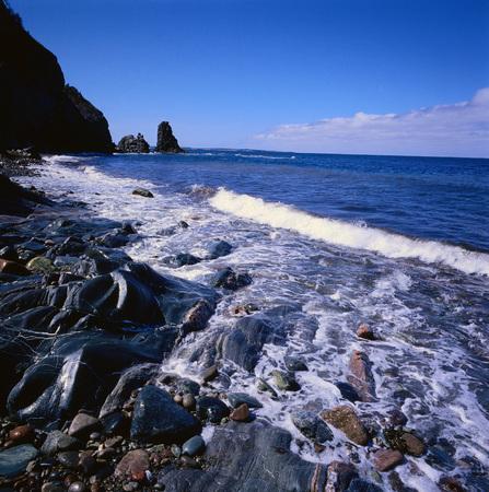 Shoreline, Cape Breton, Nova Scotia, Canada LANG_EVOIMAGES